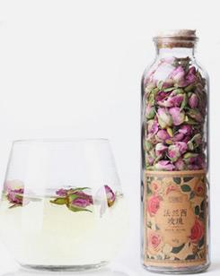 花草法兰西玫瑰花茶
